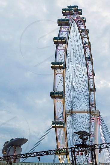 Singapore Flyer Ferris Wheel in Singapore photo