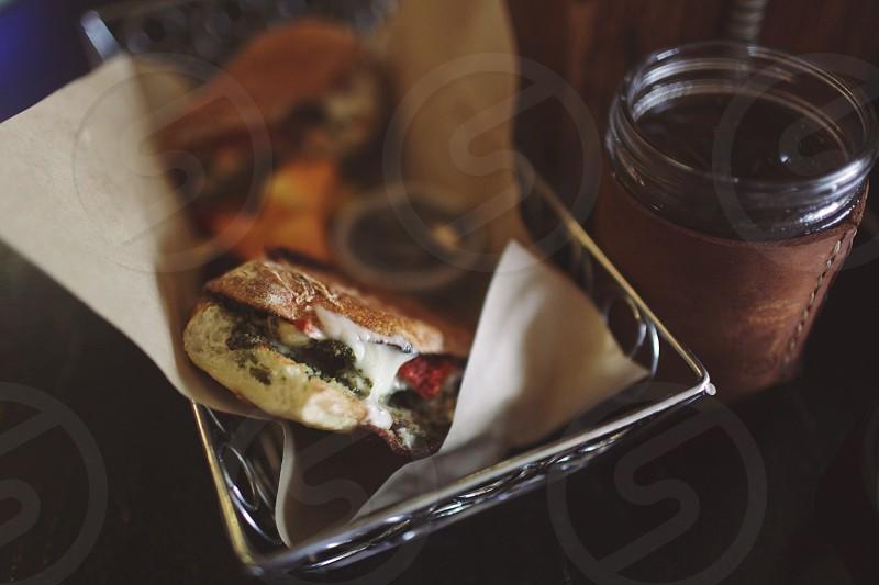 panini sandwich  photo