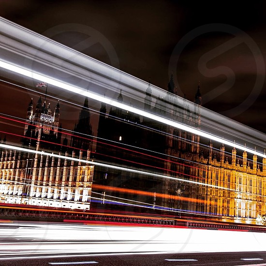 Parliament building London England photo