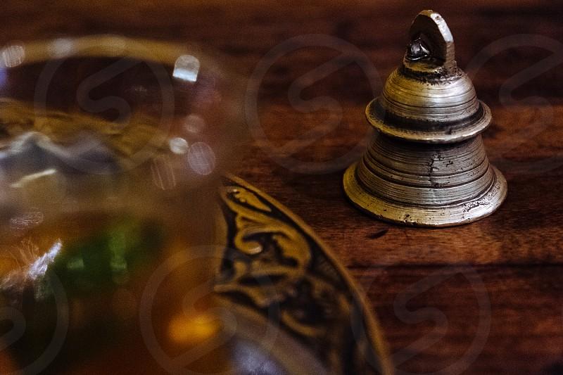 Bell in tea-room. photo