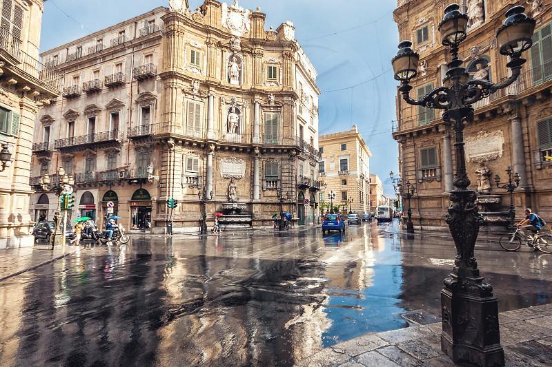Quattro Canti in Palermo Sicily photo