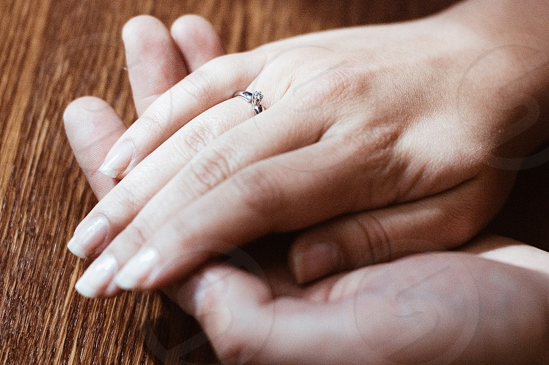 couple hugging derutsya hands pomilui love tenderness couple engagement young people youth hands feelings friendship loyalty devotion sincerity relationship photo