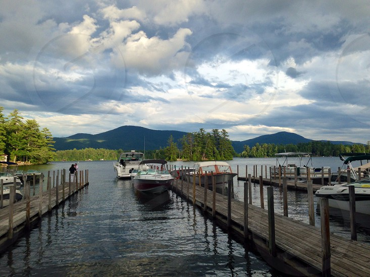 Lake George at the Algonquin. photo