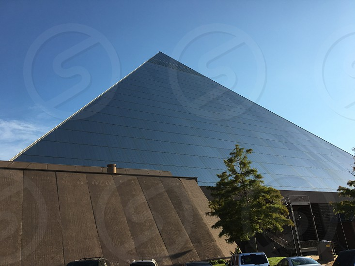 Memphis Pyramid in Memphis Tennessee photo