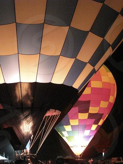 hot air balloons Plano Texas photo