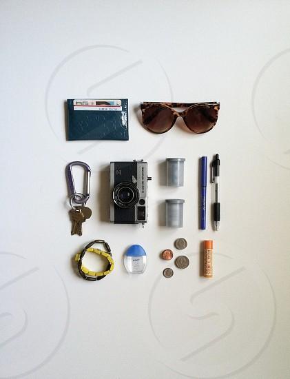 My things organized neatly. photo
