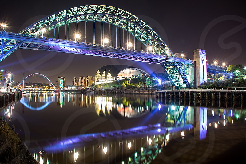 Tyne bridge Newcastle United Kingdom photo