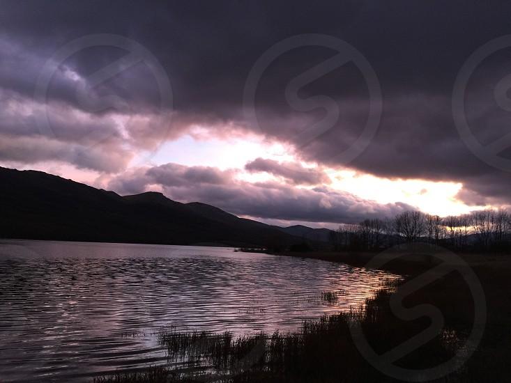 Purple lake photo
