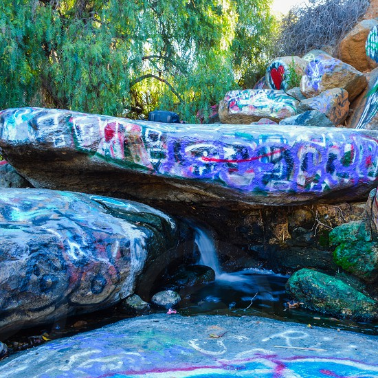multicolored rocks painting photography photo