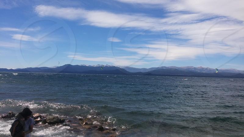 lago nahuel huapi. argentina photo