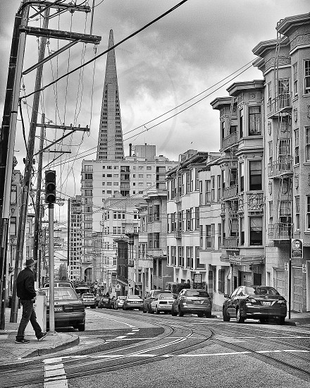 A street view in San Francisco. photo
