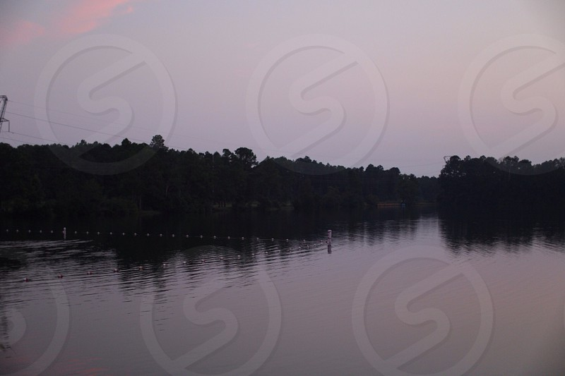 Lake in Biloxi MS.  photo