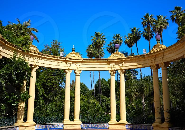 Seville Casino de la Exposicion in sevilla Andalusia of spain photo