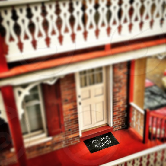 closed up photo of beige and multicolored house miniature photo