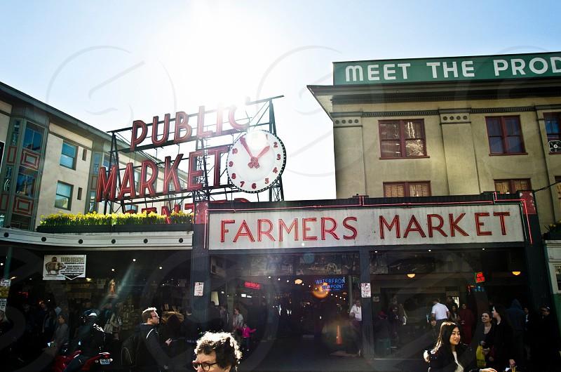 Seattle Washington Pikes Market photo