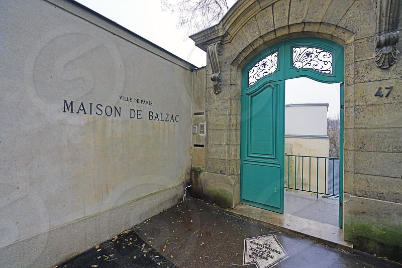 The Maison de Balzac in Paris France photo