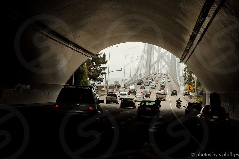 Crossing the Bay Bridge photo