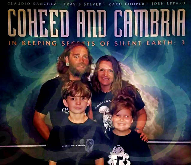 we took our oldest 2 children to there 1st concert photo
