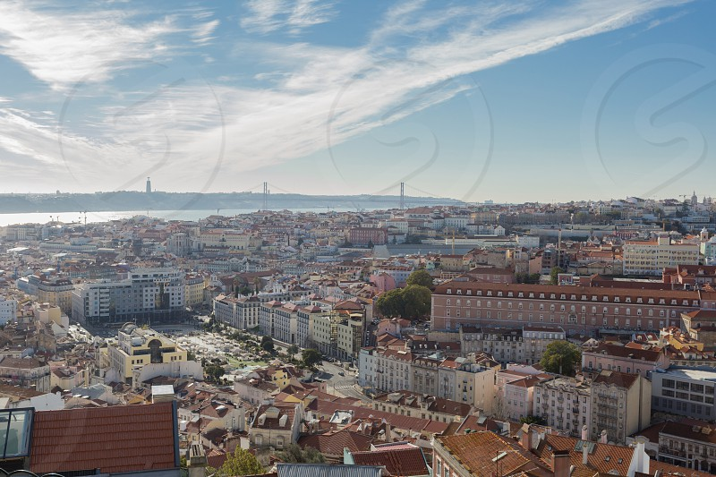 Landscape in Lisbon portugal photo