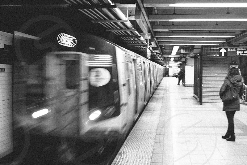 New York City vibes in the subway. photo