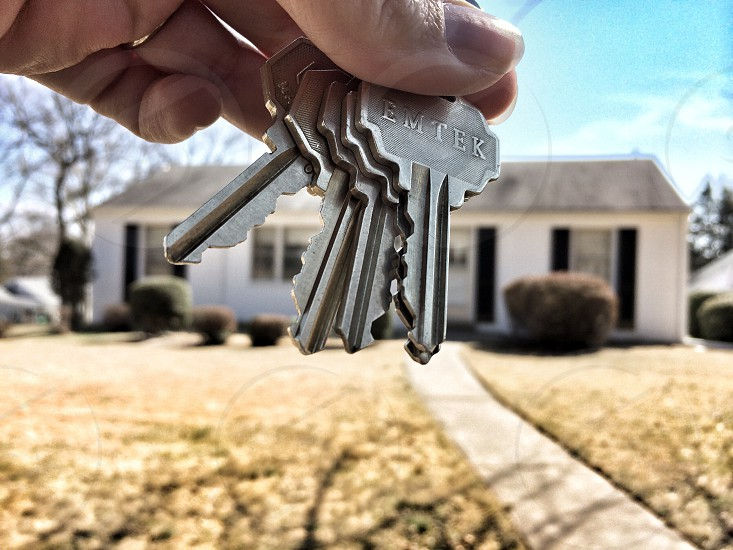 New home owner photo