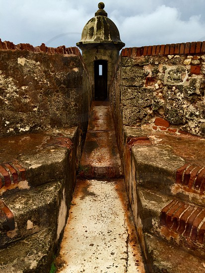 The fort in Old San Juan photo