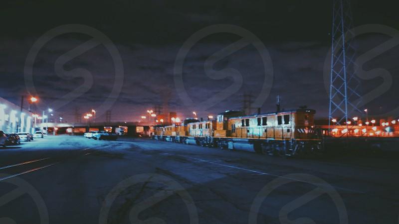 Train yard. LA. photo