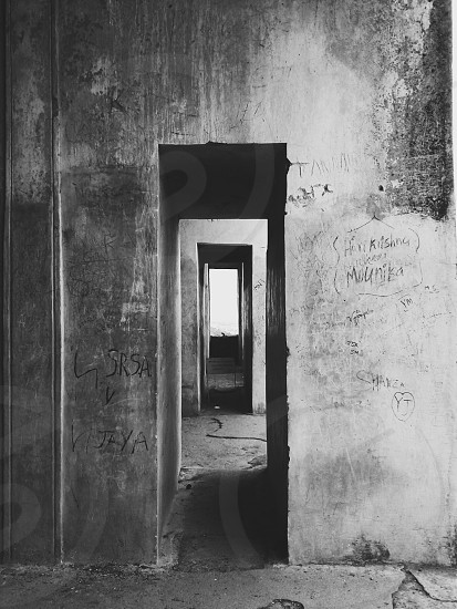 cement walls photo