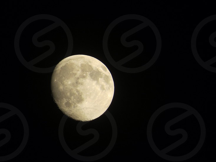Moon night sky photo