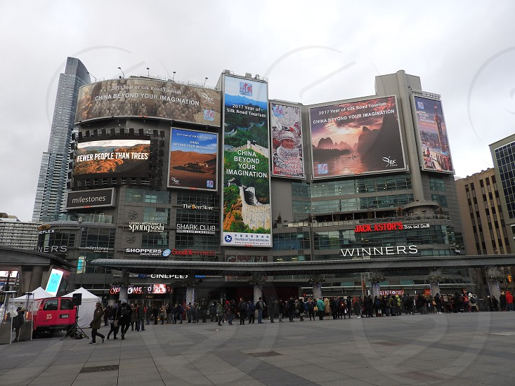 Yonge-Dundas Square photo