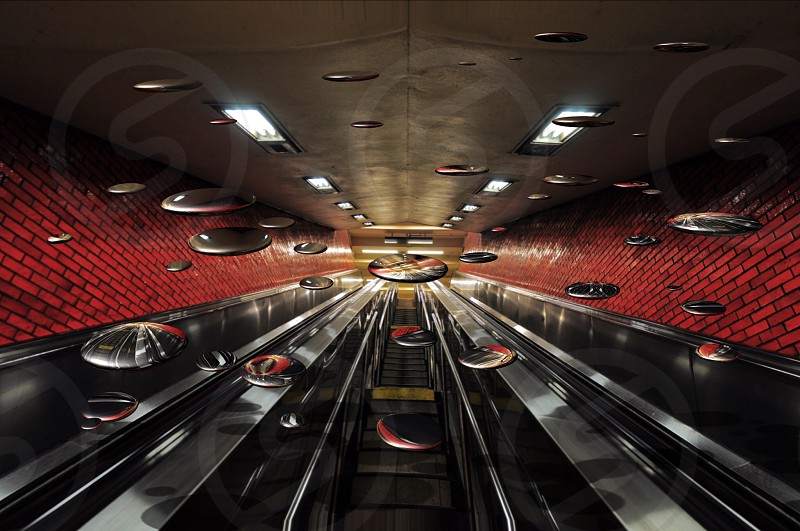 escalator area photo
