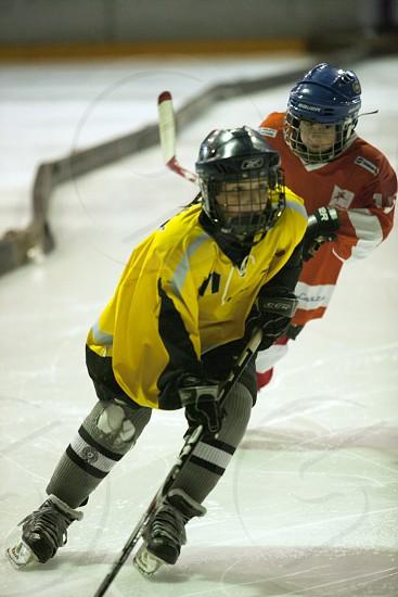 Ice hockey photo
