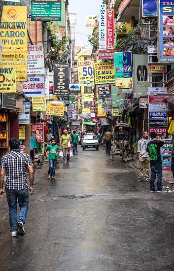 Kathmandu signage photo
