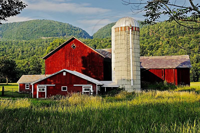 Farm with Silo photo
