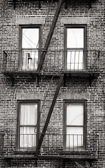 New York City apartment buildings photo
