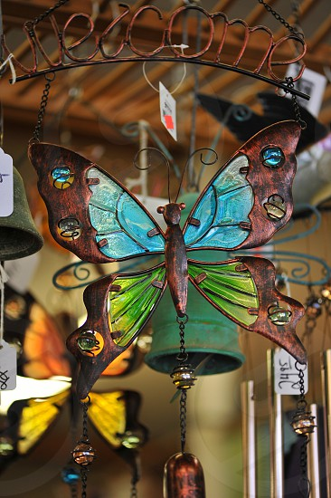 Butterfly Wind chime  photo