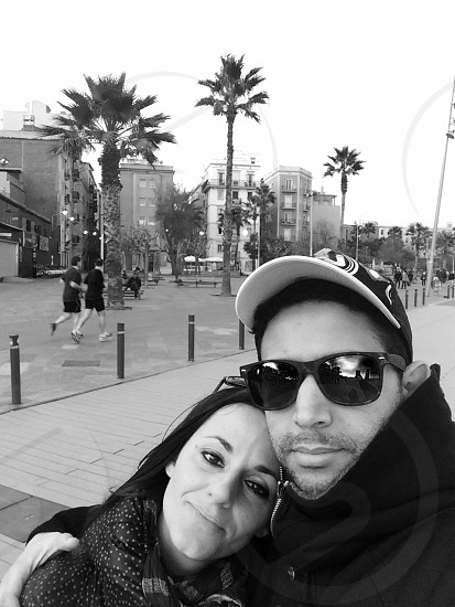 Lovely couple from barcelona photo