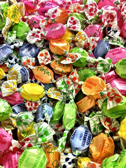 Colorful Puntini Candies photo