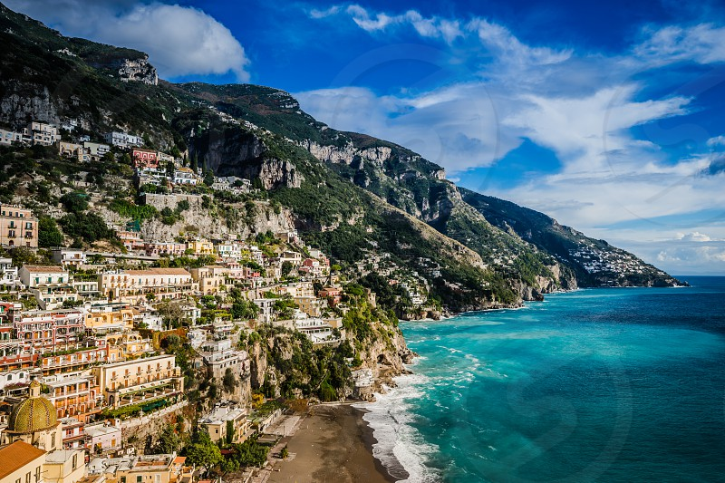 Positano Almalfi Coast Italy. photo
