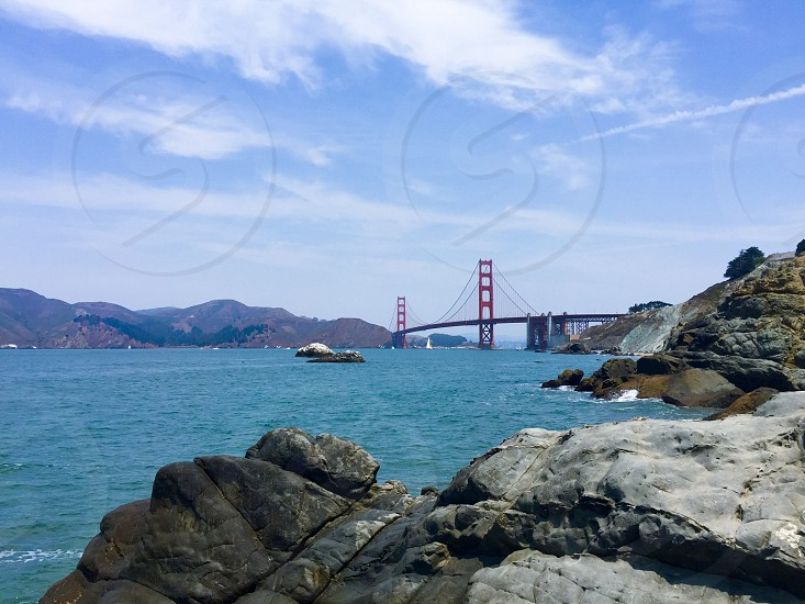 Golden Gate Bridge San Francisco Cali California travel  photo