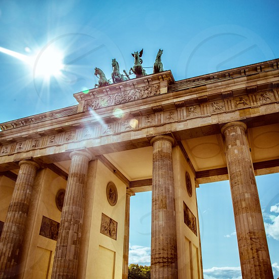 Brandenburg Gate Berlin Germany photo