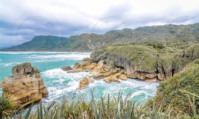 Punakaiki New Zealand photo