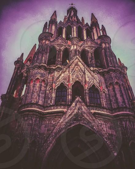 Catedral San Miguel de Allende Gto. México  photo