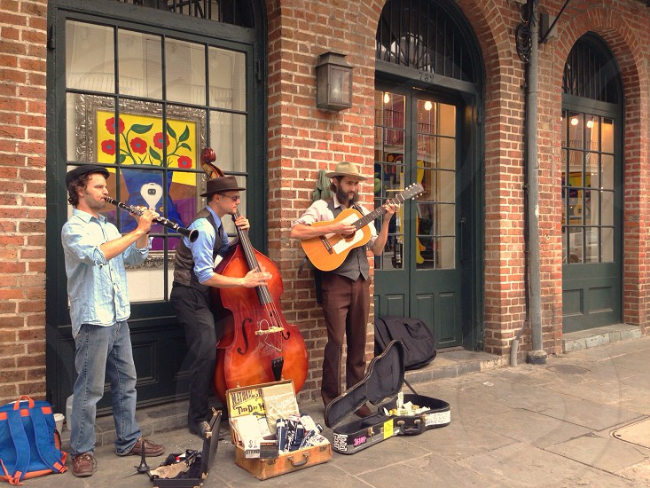 Bluegrass trio -- New Orleans USA photo