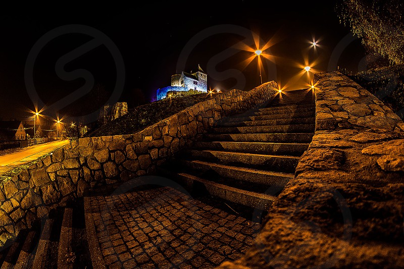 Stairway to the castle photo