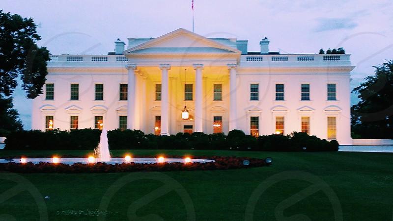 White House Washington DC photo