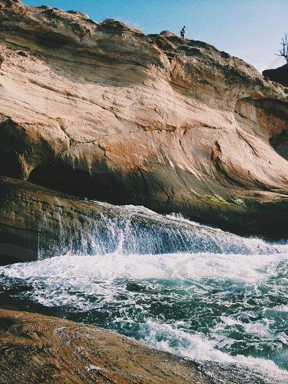 Cape Kiwanda Oregon Coast.  photo