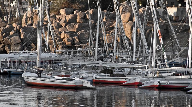 Sail Boats Nile River photo