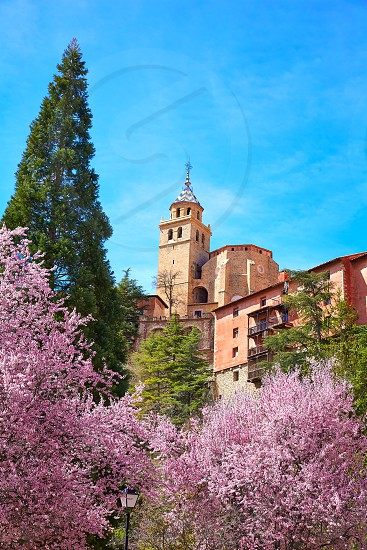 Albarracin medieval town in Teruel world heritage at Spain photo