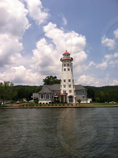 Light House on the River photo